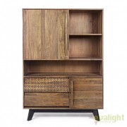Dulap din lemn de mango design vintage EMIRA 2DO-2DR 0745175 BZ