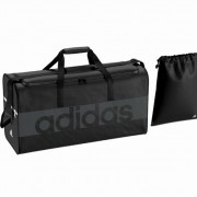 adidas Sporttasche TIRO 17 LINEAR TEAMBAG - black/dark grey   M