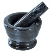 Moździerz granitowy z tłuczkiem do przypraw ORION