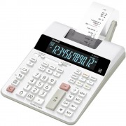 Ispisni stolni kalkulator Casio FR-2650RC Bijela Zaslon (broj mjesta): 12 strujni pogon (Š x V x d) 195 x 65 x 313 mm
