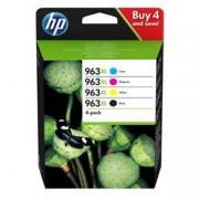 ORIGINAL HP Multipack nero / ciano / magenta / giallo 3YP35AE 963 XL