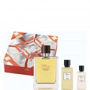 Hermes Terre d'Hermès Eau Intense Vetiver Confezione 100 ML Eau de Parfum + 80 ML Shower Gel + 40 ML After Shave Lotion