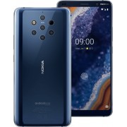 "Smartphone, NOKIA 9 PUREVIEW TA-1087, DS, 5.99"", Arm Octa (2.8G), 6GB RAM, 128GB Storage, Android, Blue (11AOPLW1A10)"