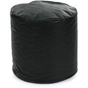 Home Story Round Ottoman Medium Size Black Cover Only