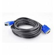 Cablu Video Full HD VGA D-Sub 15 Pini Lungime 5m