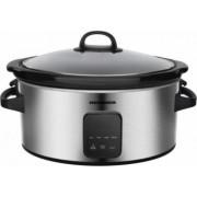Slow cooker 220 W capacitate 5.7 L vas ceramic Display LED