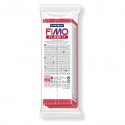 Gyurma, 350 g, égethető, FIMO Professional, kármin