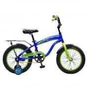 Benotto Bicicleta Infantil Benotto Easy Ride Cross R16 1V Azul con Verde Niño