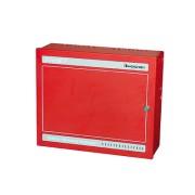 Gabinete para baterias, color rojo Hochiki FNACCR