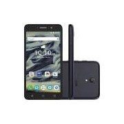 Smartphone Alcatel Pixi4 Dual Chip Android 5.1 Lollipop Tela 6 Quad Core 8 GB 3G Wi-Fi Câmera 13MP - Preto
