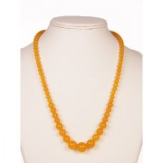 The Haat Onyx Stone Necklace (Yellow)