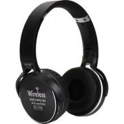 Vinimox az-009 wireless stereo headphone Bluetooth Headphone (Black Over the Ear)