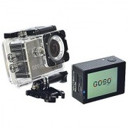 GOSO Waterproof Sport Action Camera Wi-Fi HD 1080P 12MP 170 Degree View Angle 2.0 inch LCD with Mounting Accessories