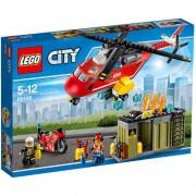 Set de constructie LEGO City Unitate de Interventie de Pompieri