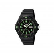 Reloj CASIO MRW-200H-3BVCF Diver-look Classic Collection Análogo Con Calendario-Negro