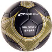 Minge de fotbal Spokey VELOCITY SPEAR black and yellow č.5