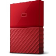"HARD DISK EXTERN WESTERN DIGITAL MY PASSPORT 2.5"" 3TB USB3.0 RED WDBYFT0030BRD"
