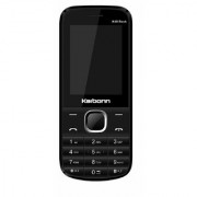 Karbonn K49 Rock Dual Sim Mobile With 1450 mAh Battery/2.4 Inch Display/ Camera/Torch