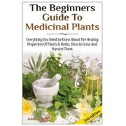 The Beginners Guide to Medicinal Plants: Everything You Need to Know about the Healing Properties of Plants & Herbs, How to Grow and Harvest Them, Paperback/Lindsey P