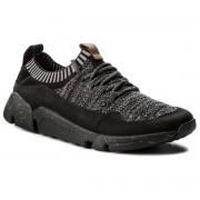 Sneakersy CLARKS - Triactive Knit 261338907 Black