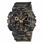 Casio g-shock GA-100CM-5ADR hombres reloj de cuarzo - camuflaje