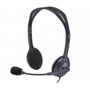 Logitech H111 Cuffia Stereo con Microfono - 2 Anni di Garanzia in Italia