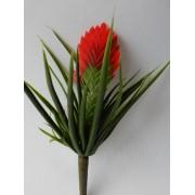 Tillandsia rood kunstplanten en kunsbloemen