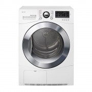 LG TDC80NPW 8Kg Condensing Dryer in White Finish