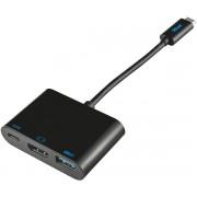 Adaptor Trust 21260, USB-C - Multiport