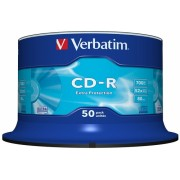 CD-R 700 MB 52X Extra Protection 50 bucati Verbatim