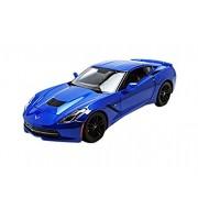 2014 Chevrolet Stingray Corvette Z51 Blue 1/18 by Maisto 31677