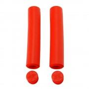 【セール実施中】【送料無料】SUPACAZ(スパカズ)Siliconez シリコンズ 自転車グリップ サイクルドレスパーツ Red