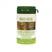 Bio Sol Chlorella til vet. brug - 300 Tabl