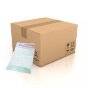 SLT Carton de 600 bavoirs jetables pour adulte avec poche - 2 plis - 38 x 68 cm