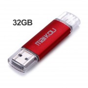 Colorido 32G Mobile OTG USB Flash Drive USB 2.0 Micro Memory Stick Pen