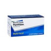 Bausch & Lomb PureVision Multifocal (3 contact lenses)