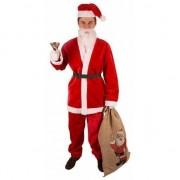 Geen Kerstman pak van pluche maat XL