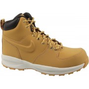 Nike Manoa Lth Gs AJ1280-700, Vrouwen, Geel, Trekkinglaarzen maat: 36 EU