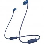 Sony WI-C310 Bluetooth® in ear slušalice u ušima kontrola glasnoće, slušalice s mikrofonom plava boja