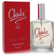 Charlie Red For Women By Revlon Eau De Toilette Spray 3.3 Oz