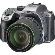 Pentax K-70 + 18-135mm F/3.5-5.6 SMC ED DA AL IF DC WR - Argento - 2 Anni Di Garanzia