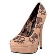 Iron Fist Sugar Hiccup Platform, Shoes, brun, UK 6