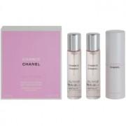 Chanel Chance Eau Tendre eau de toilette para mujer 3 x 20 ml (1x recargable + 2x recarga)