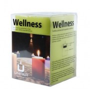 Unipar Wellness sviečka Green N271