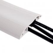 Dataflex Kabelbrug vloergoot licht grijs-3.0 meter
