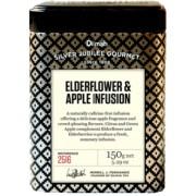 Dilmah bodza virág almaszirmokkal gyümölcs tea fémdobozban 150 gr/doboz