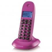 Motorola C1001L Telefone Sem Fios Violeta