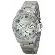 New Men Brand Paidu Gold Watch - SILVER PAIDU For Men