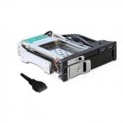 Rack HDD Delock Mobile Rack 2.5 inch 3.5 inch SATA USB 3.0 Black