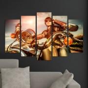 Декоративeн панел за стена с атрактивен дизайн с мотор Vivid Home